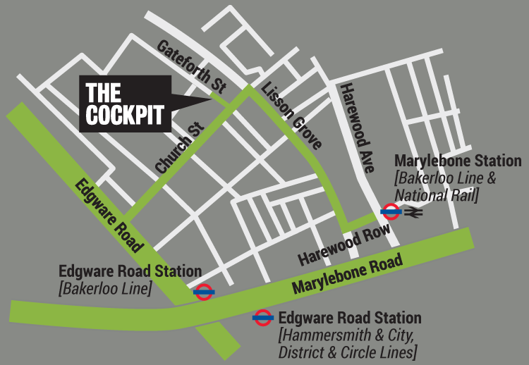 Cockpit map